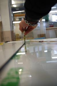 Glasskarning